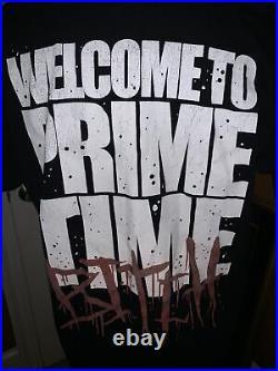 Nightmare On Elm Street Freddy Krueger Vintage Horror Shirt XL Prime Time Bitch