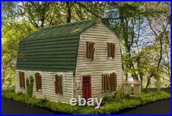 Nightmare On Elm Street House Modelfreddy Krueger Househo Scalebuilt Building