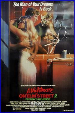 Nightmare On Elm Street II 1985 Original 27x41 Movie Poster Robert Englund
