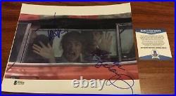 Nightmare On Elm Street Johnny Depp & Langenkamp Signed 8x10 Photo Beckett Bas