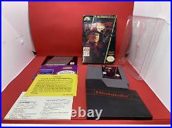 Nightmare On Elm Street (Nintendo NES) Complete in Box All inserts With Protector