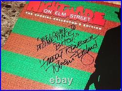 Nightmare On Elm Street Signed Laserdisc Robert Englund Collector's Edition COA