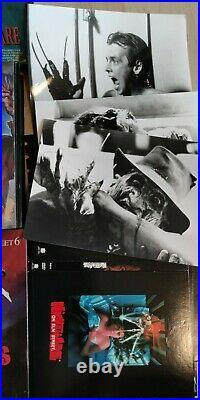 Nightmare On Elm Street VHS Sammlung Konvolut Ultra Selten Freddy Krueger 80s