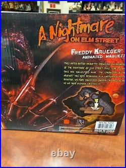 Nightmare on Elm Street Freddy Krueger Maquette EE Exclusive 288/500