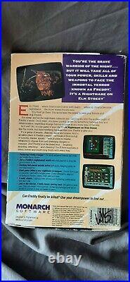 Nightmare on Elm Street Monarch Freddy Krueger Ultra Rare Video game Dos Tandy