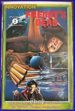 Nightmare on Elm Street RARE set of Innovation 1990s Comics! 12 HTF Comics