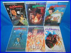 Nightmares on Elm Street #1-6 1991 Complete Set Freddy Krueger Innovation Comics