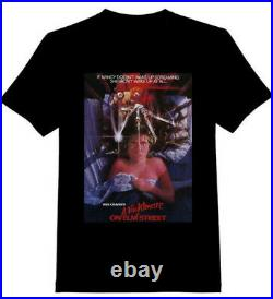 Official Retro Vintage Nightmare On Elm Street By Screen Stars T Shirt Old Stock