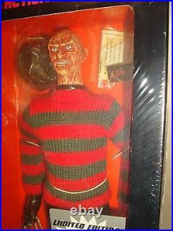 Rah Real Action Heroes A Nightmare On Elm Street Freddy Krueger Medicom Toy 1997