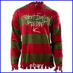 Robert Englund Autographed A Nightmare on Elm Street Freddy Krueger Sweater
