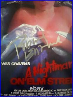 Robert Englund Signed 12x18 Photo Kreddy Krueger Nightmare on Elm Street BAS
