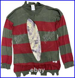 Robert Englund Signed A Nightmare On Elm Street Freddy Sweater Beckett BAS