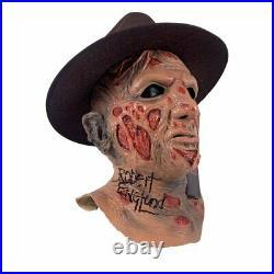 Robert Englund Signed A Nightmare on Elm Street Freddy Krueger Mask JSA COA