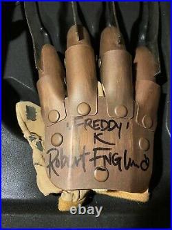Robert Englund Signed Supreme Edition Replica Glove Nightmare on Elm Street