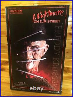 Sideshow A Nightmare on Elm Street Freddy Krueger 12 Action Figure Set NICE BOX