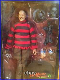 Sideshow EXCLUSIVE Freddy Krueger 12 Action Figure A Nightmare On Elm Street 3