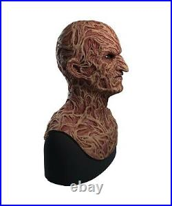Silicone Mask Freddy Krueger Halloween Mask Nightmare on Elm Street SPFX