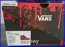 VANS X NIGHTMARE ON ELM STREET SK8-HI Freddy Krueger Shoes Mens Size 10 In Hand