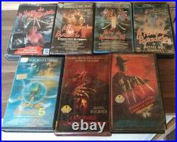 VHS Collection Brazil Brazilian A Nightmare on Elm Street Hora do Pesadelo 1-7