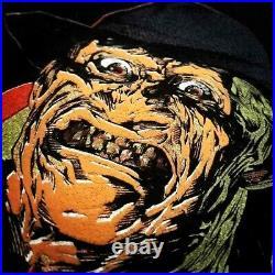 Vintage 1988 Freddy Krueger Nightmare On Elm Street 4 Movie Promo T Shirt L