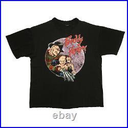 Vintage 1989 Nightmare On Elm Street 5 Freddy Krueger Horror Movie T-shirt XL