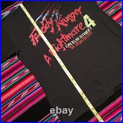 Vintage 80s Nightmare On Elm Street 4 1988 Dream Master Shirt Authentic USA Made