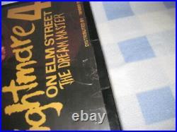 Vintage Nightmare on Elm Street 4 Video Trend Light Up Box Movie Poster