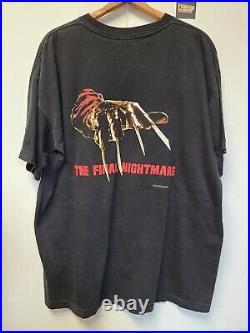 Vtg 90s Nightmare On Elm Street The Final Nightmare T Shirt Mens XL Horror