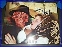 Wes Craven R. I. P Robert Englund Nightmare On Elm Street Dual Signed 11x14 Photo