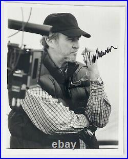 Wes Craven Signed 8x10 Photo Nightmare On Elm Street Director Scream Acoa Loa