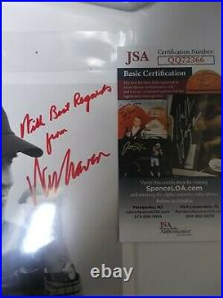 Wes Craven Signed Autographed Photo With JSA COA Nightmare Elm Street